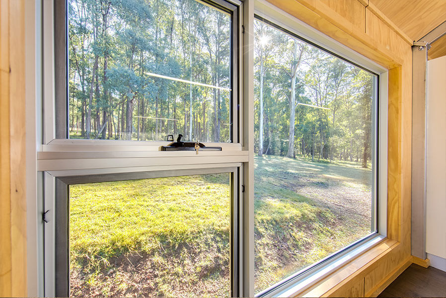 Awning-Casement Windows - Bush Views