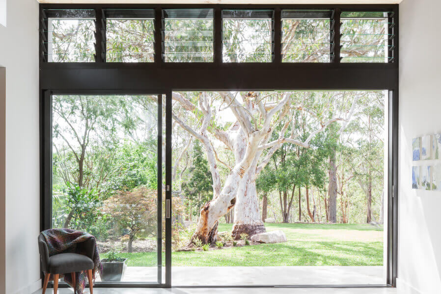 Sliding Doors - Gum Tree View