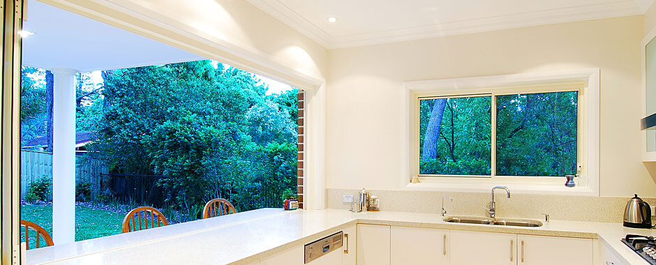 Sliding Windows - Kitchen